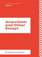Anarchism and Other Essays (Annotated)