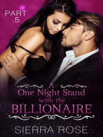 A One Night Stand With The Billionaire
