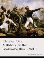 A History of the Peninsular War - Vol. II