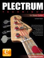 Plectrum Technique for Bass Guitar