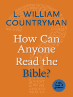 How Can Anyone Read the Bible?