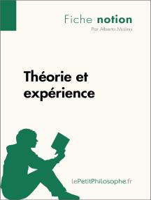 Théorie et expérience (Fiche notion): LePetitPhilosophe.fr - Comprendre la philosophie