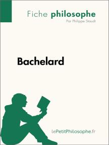 Bachelard (Fiche philosophe): Comprendre la philosophie avec lePetitPhilosophe.fr