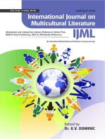 International Journal on Multicultural Literature (IJML)