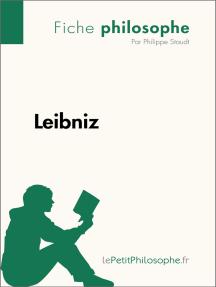 Leibniz (Fiche philosophe): Comprendre la philosophie avec lePetitPhilosophe.fr