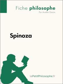 Spinoza (Fiche philosophe): Comprendre la philosophie avec lePetitPhilosophe.fr