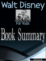 Walt Disney - A Summary Of His Life (For Kids)