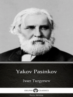 Yakov Pasinkov by Ivan Turgenev - Delphi Classics (Illustrated)