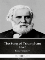 The Song of Triumphant Love by Ivan Turgenev - Delphi Classics (Illustrated)