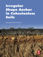Irregular Shape Anchor in Cohesionless Soils