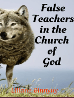 False Teachers in the Church of God