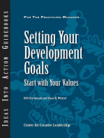 Setting Your Development Goals