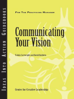 Communicating Your Vision