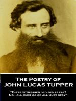 The Poetry of John Lucas Tupper