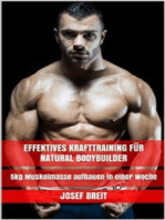 Effektives Krafttraining für Natural Bodybuilder