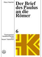 Der Brief des Paulus an die Römer