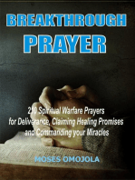 Breakthrough Prayers