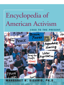 Encyclopedia of American Activism: 1960 to the Present
