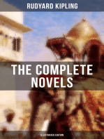 THE COMPLETE NOVELS OF RUDYARD KIPLING (Illustrated Edition)