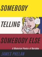 Somebody Telling Somebody Else
