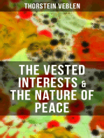 THE VESTED INTERESTS & THE NATURE OF PEACE
