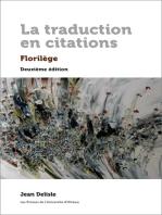 La traduction en citations: Florilège