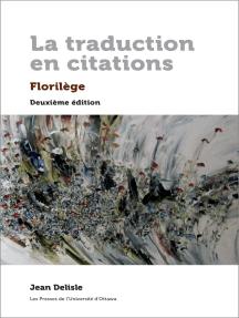 Lisez La Traduction En Citations De Jean Delisle En Ligne Livres