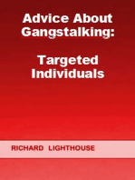 Advice About Gangstalking