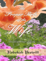 The Proper Role of the Wife