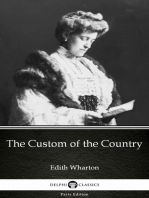 The Custom of the Country by Edith Wharton - Delphi Classics (Illustrated)