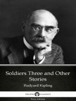 Soldiers Three and Other Stories by Rudyard Kipling - Delphi Classics (Illustrated)