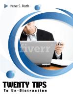 Twenty Tips to Un-distraction