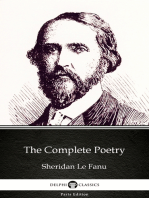 The Complete Poetry by Sheridan Le Fanu - Delphi Classics (Illustrated)