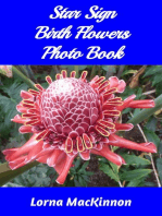 Star Sign Birth Flowers Photo Book