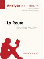 La Route de Cormac McCarthy (Analyse de l'oeuvre)