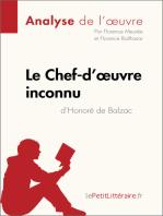 Le Chef-d'œuvre inconnu d'Honoré de Balzac (Analyse de l'oeuvre)