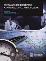 Ensayos de derecho contractual financiero