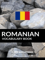 Romanian Vocabulary Book: A Topic Based Approach