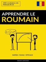 Apprendre le roumain