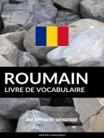 Livre de vocabulaire roumain