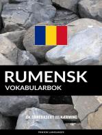 Rumensk Vokabularbok: En Emnebasert Tilnærming