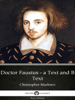 Doctor Faustus - A Text and B Text by Christopher Marlowe - Delphi Classics (Illustrated)