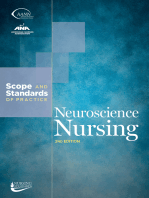 Neuroscience Nursing: Scope and Standards of Practice