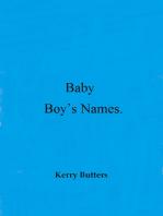 Baby Boy's Names.