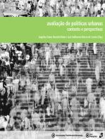 Avaliação de políticas urbanas