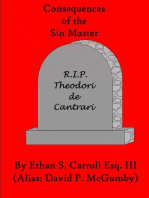 Consequences of the Sin Master