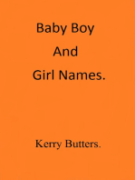 Baby Boy And Girl Names.