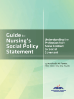 Guide to Nursing's Social Policy Statement