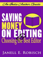 Saving Money on Editing & Choosing the Best Editor