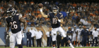 Pressure Mounting for Mike Glennon as Mitch Trubisky Continues to Stand Out